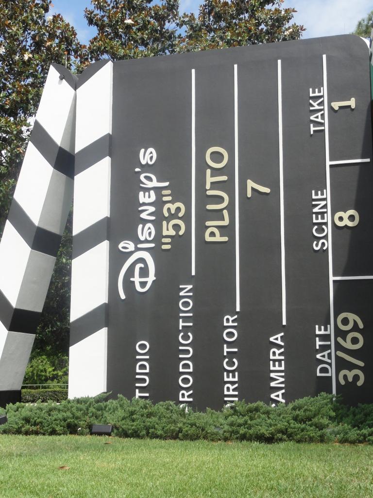 Decor at Disney's Hollywood Studios Hotel